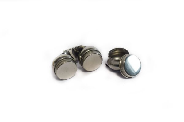 Metal Twin Dipper with Lid