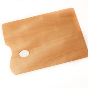 Wooden Oblong Palette
