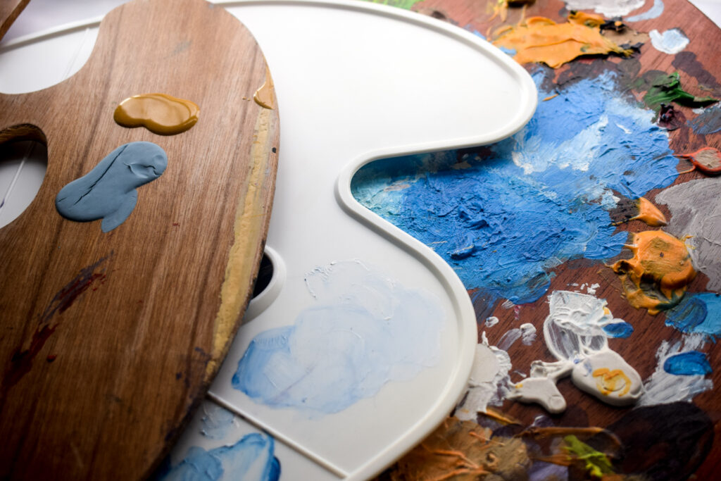 How to choose an Oil Painting Palette